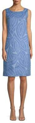 Lafayette 148 New York Sleeveless Farah Linen Dress