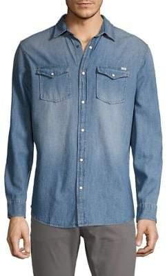 Jack and Jones Sheridan Slim-Fit Denim Shirt