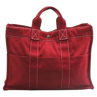 Hermes Cloth tote