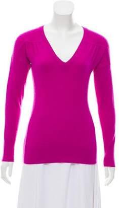 Diane von Furstenberg Cashmere Rib Knit Sweater