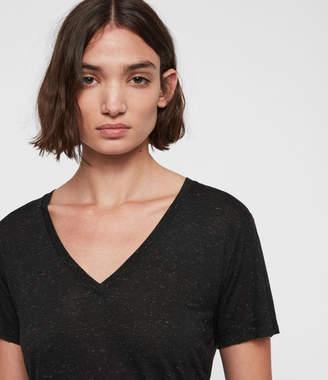 AllSaints Emelyn Shimmer T-Shirt