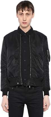 Saint Laurent Nylon Bomber Jacket
