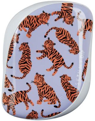 x Skinny Dip Compact Styler Detangling Hair Brush - Trendy Tiger