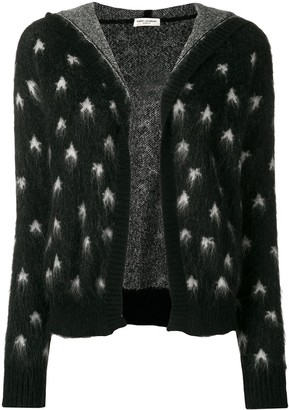 Saint Laurent Baja Court star patterned cardigan