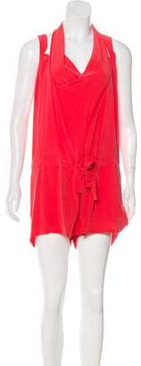 Thakoon Sleeveless Silk Romper w/ Tags