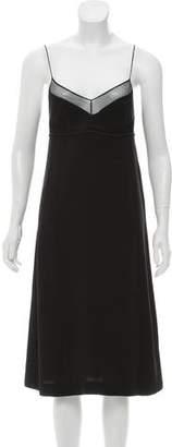 Calvin Klein Collection Sleeveless Midi Dress