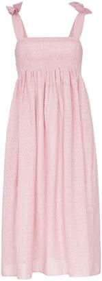 Marysia Swim Sicily tie strap smock dress