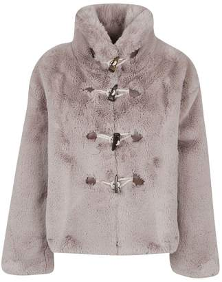Golden Goose Faux Fur Toggle Jacket