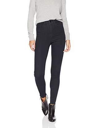 William Rast Women's High Waist Skinny Denim Jean, Over The