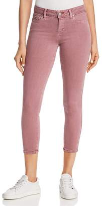 Paige Vertigo Cropped Skinny Jeans in Vintage Garden Rose