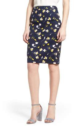 Boden Martha Floral Pencil Skirt