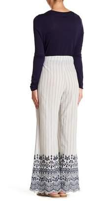 XCVI Herrera Embroidered Pants