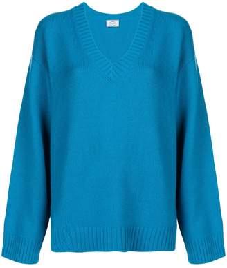 Prada oversized V-neck sweater