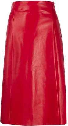 Drome high waisted A-Line skirt