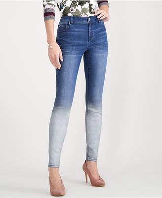 INC International Concepts I.n.c. Ombre Skinny Jeans