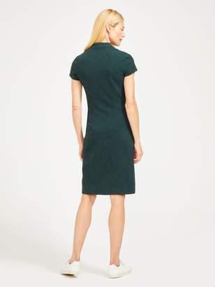 Ivana Cap Sleeve Dress in Market Paisley Jacquard