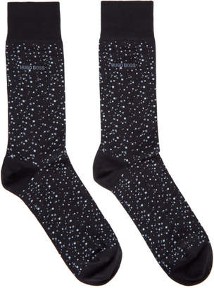 BOSS Navy Dot Socks