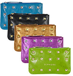 SEPHORA COLLECTION Studded Cosmetic Clutch