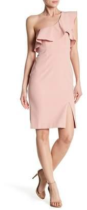 Bardot Ruffle One-Shoulder Dress