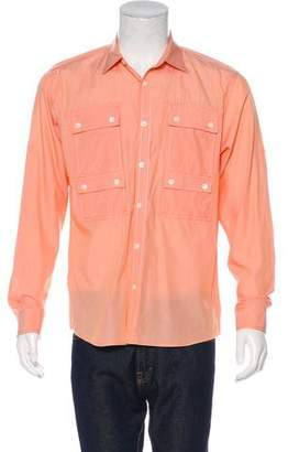 Michael Kors Striped Utility Shirt