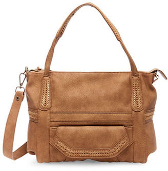 Steve Madden Woven Tote Bag $98 thestylecure.com