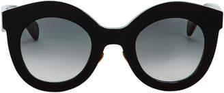 Cat Eye Kaleos Oversized Sunglasses