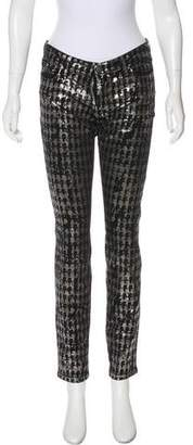 Karl Lagerfeld by Courtney Mid-Rise Jeans w/ Tags