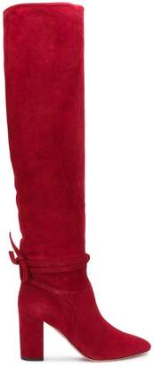Aquazzura Milano knee-high boots