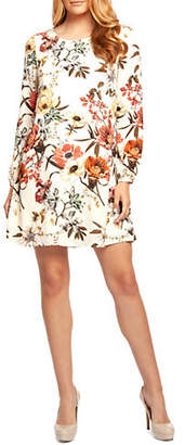 Dex Long-Sleeve A-Line Dress
