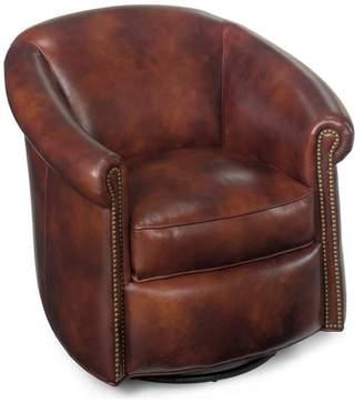 Bradington-Young Marietta Swivel Tub Chair, Antique