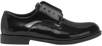 DSQUARED2 Polished Leather Laceless Derby Shoes
