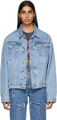 Vetements Blue Levis Edition Denim Oversized Jacket