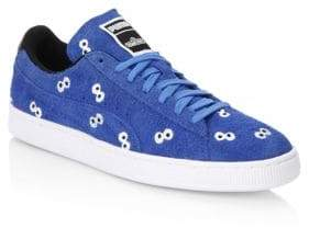 Puma Sesame Street Lace-Up Suede Sneakers