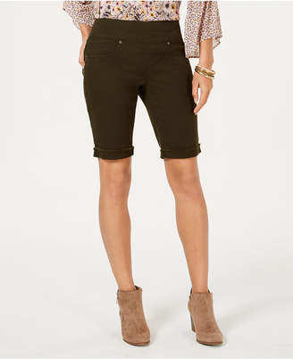 Style&Co. Style & Co Pull-On Bermuda Shorts, Created for Macy's
