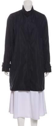Brunello Cucinelli Long Sleeve Knee-Length Coat