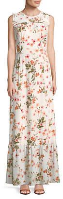 Karl Lagerfeld PARIS Floral-Print Maxi Dress