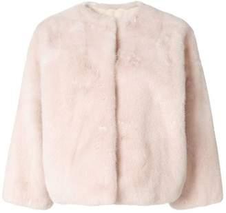 Yves Salomon oversized short jacket