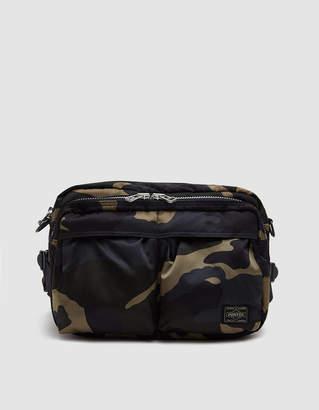 Porter Yoshida & Co. Countershade Waist Bag in Woodland Khaki