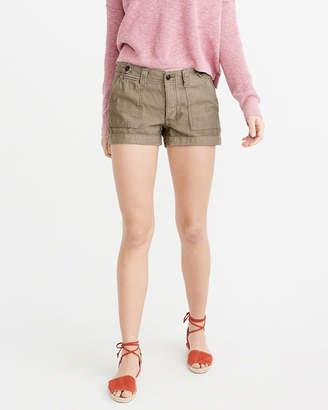 Abercrombie & Fitch Low Rise Boyfriend Shorts