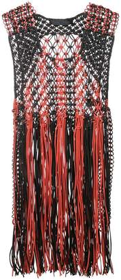 Proenza Schouler Sleeveless Fringe Top