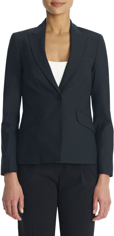 Washable Wool Tuxedo Jacket
