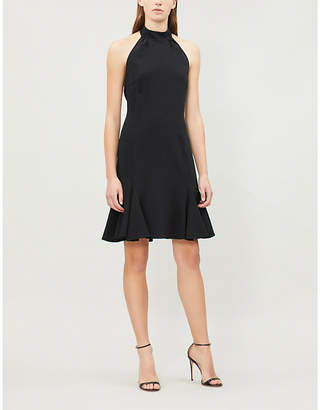 Stella McCartney Halterneck crepe mini dress