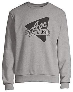 A.P.C. Men's Logo Sweatshirt