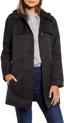 London Fog Double Collar Trench Coat