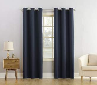 Montego No. 918 37160 Casual Textured Grommet Curtain Panel