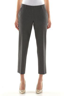 Apt. 9® Curvy Fit Ankle Dress Pants - Women's $48 thestylecure.com