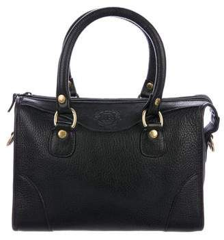 Ghurka Grained Leather Satchel