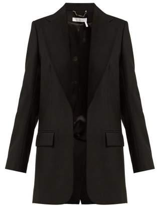 Chloé Single Breasted Wool Blazer - Womens - Black