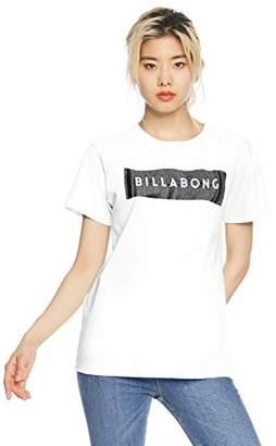 Billabong (ビラボン) - (ビラボン) BILLABONG [ レディース ] 半袖 Tシャツ (ロゴ プリント) [ AI013-202 / LOGO SS TEE ] おしゃれ AI013-202 WHT WHT_ホワイト L