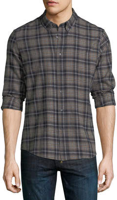 Slate & Stone Plaid Button-Down Shirt
